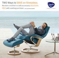Stressless Two Ways to Save.