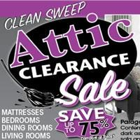 Attic Clearance Sale! Take an Extra 10% OFF!