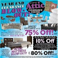 Year End Attic Clearance Blow-Out!