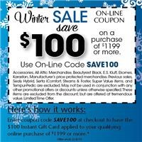 Exclusive On-Line Offer!