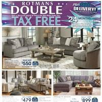 Double Tax Free Savings and Free Delivery!