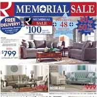Memorial Sale with Gift Card and Free Delivery!