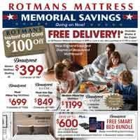 Memorial Bedding Sale with Gift Card and Free Delivery!