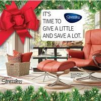 It's Time to give a little and save a lot. Stressless Charity Event going on now