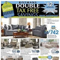 Double Tax Free Savings and Free Shipping with minimum purchase