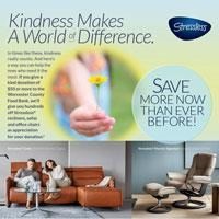 Kindness Makes a World of Difference. Save more now than Ever on Stressless