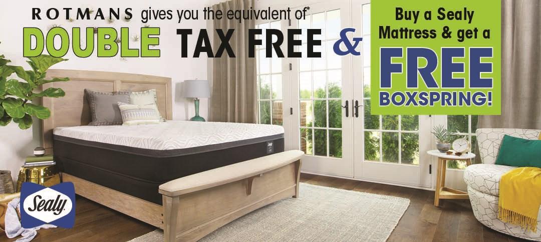Sealy Mattress Free Box Offer