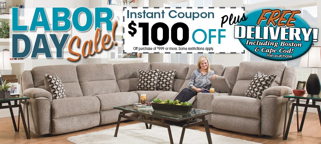 Genial Labor Day Sale With Free Delivery And $100 Off Coupon ...