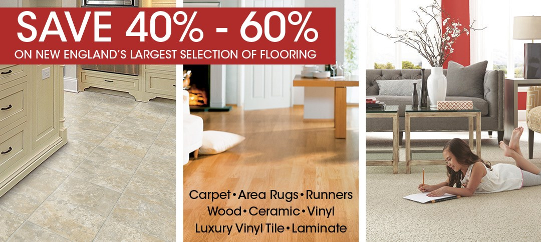 New England's Largest Selection of Flooring