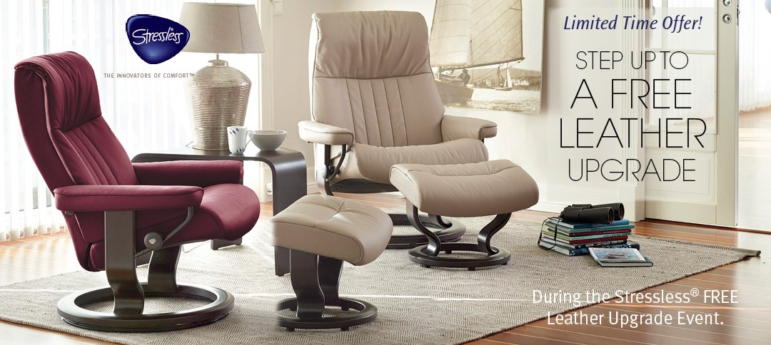 Free Leather Upgrade On Stressless