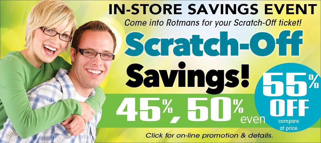 Scratch Off Savings Event!