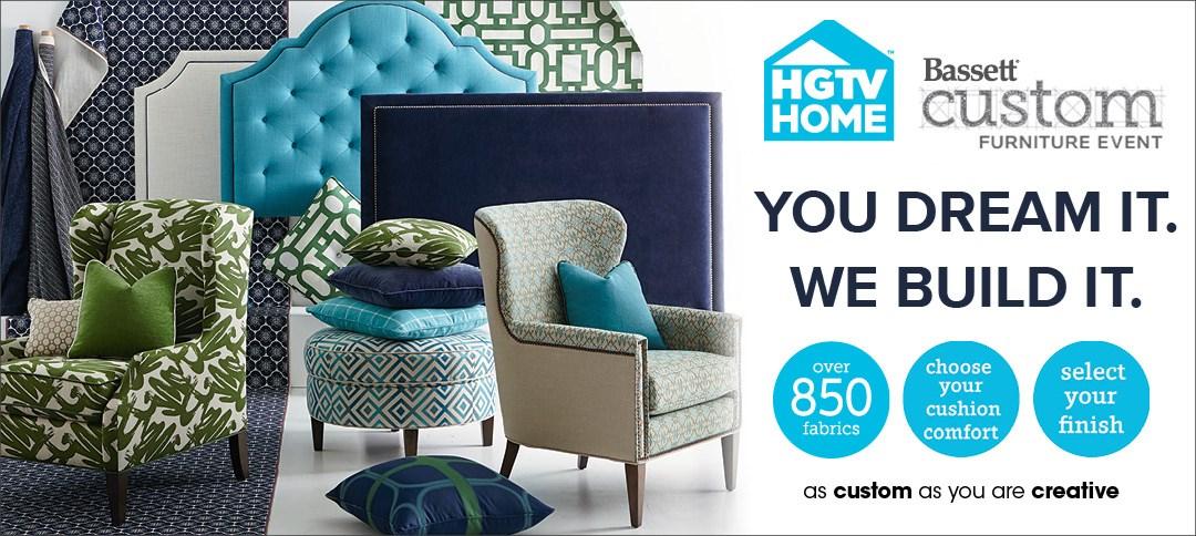 HGTV Bassett Custom Furniture Event!