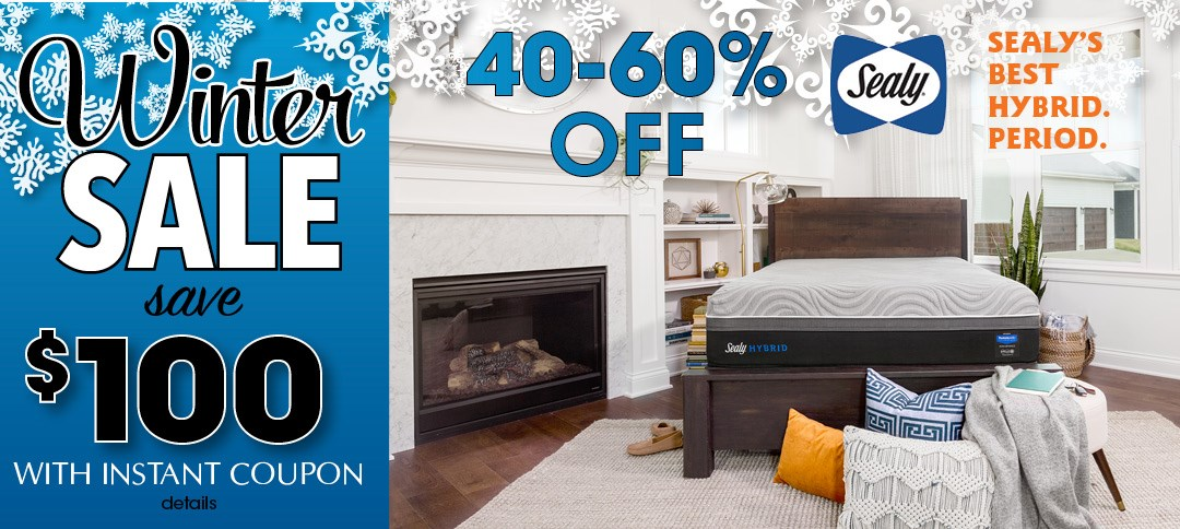 Save on Sealy Mattresses