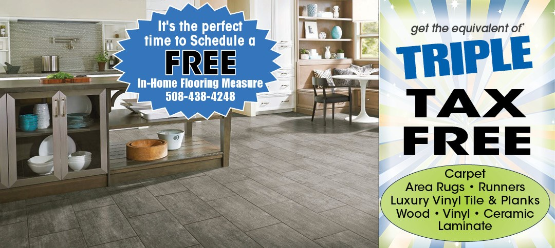 Triple tax free savings on flooring
