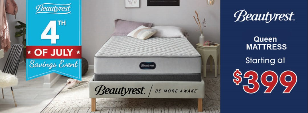 Beautyrest July 4th Mattress Sale