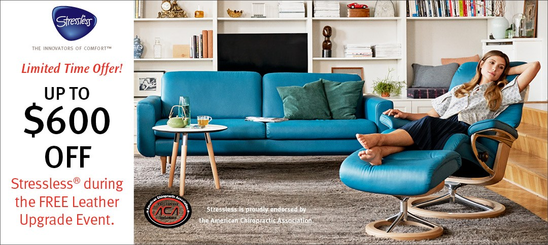 Stressless Free Leather Upgrade Event!