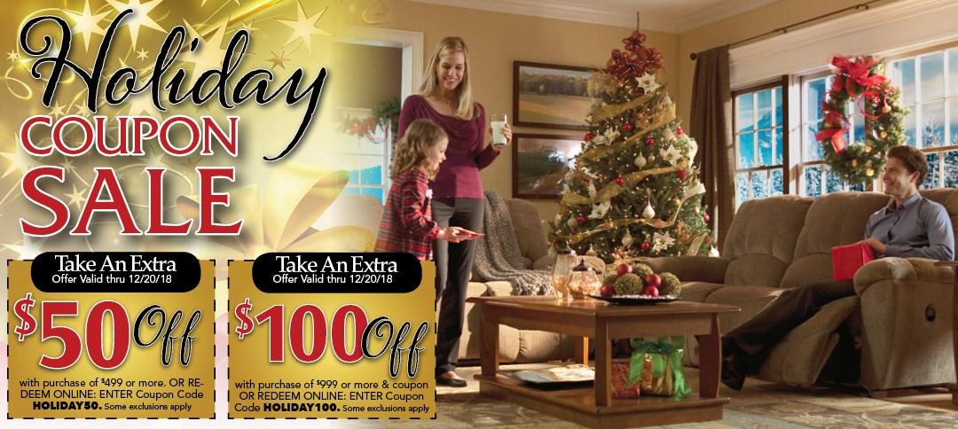 Holiday Coupon Sale!