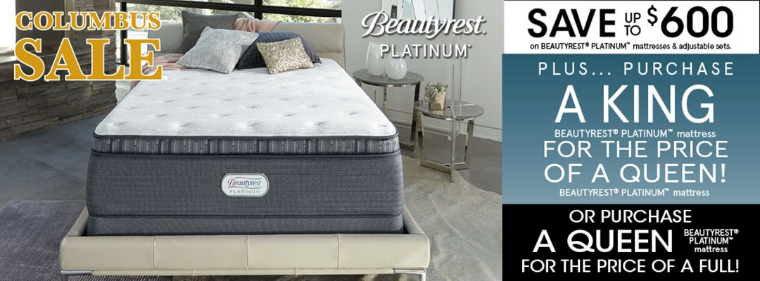Beautyrest Platinum K4Q Promo