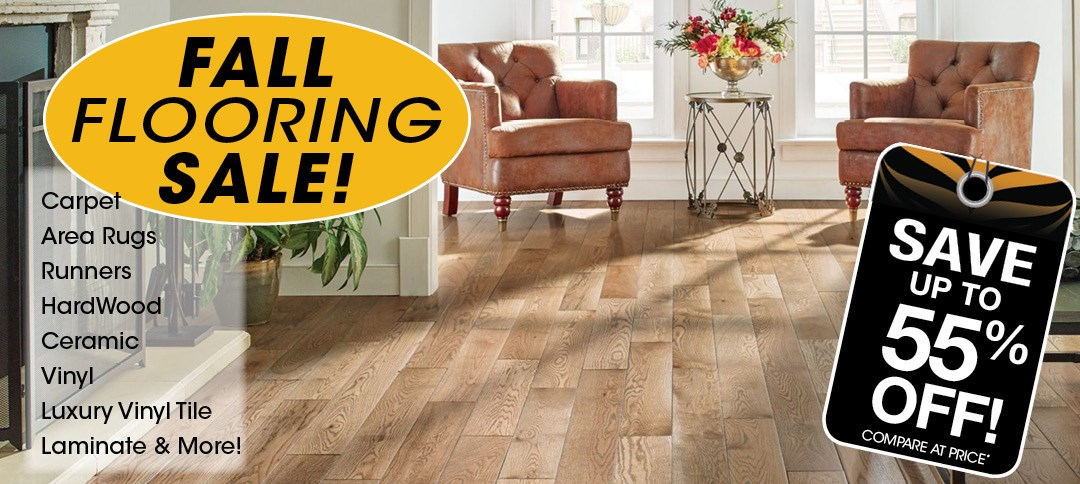Fall Flooring Sale! Save up to 55%Off!