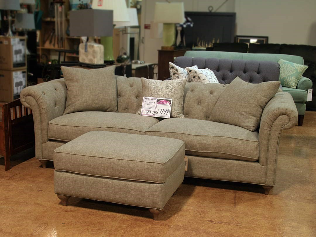 Clearance Sofa & Ottoman