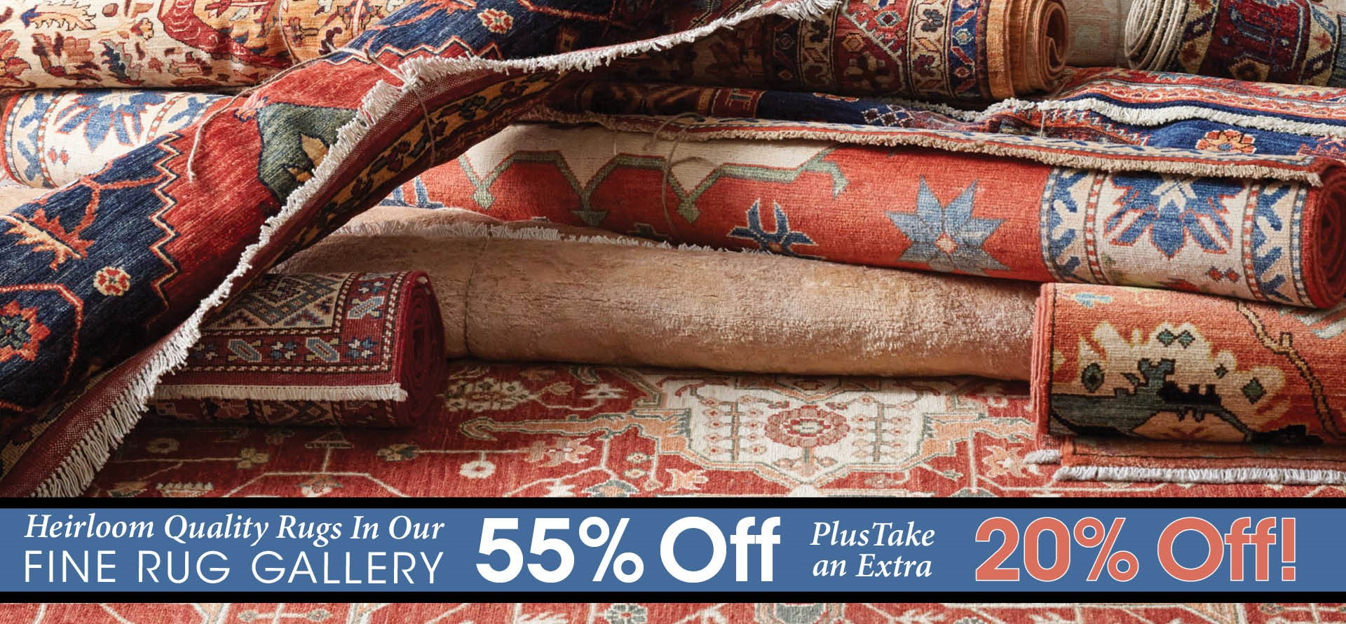Take an Extra 20% Off in our Fine Rug Gallery