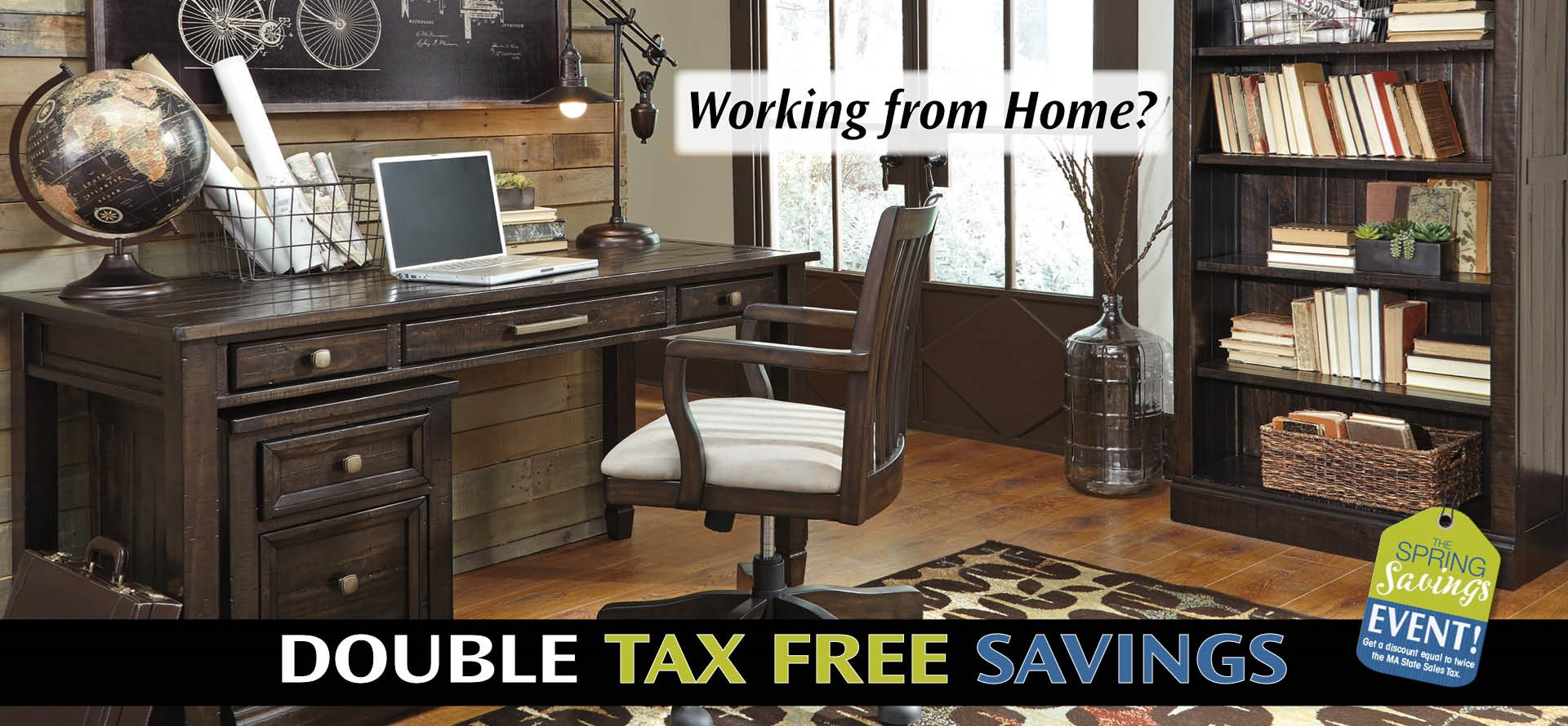 Set up your home office with double tax free savings