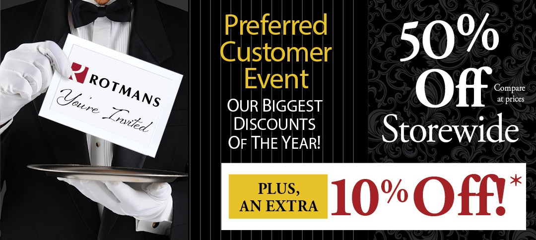 Customer Appreciation Sale take and extra 10% off!