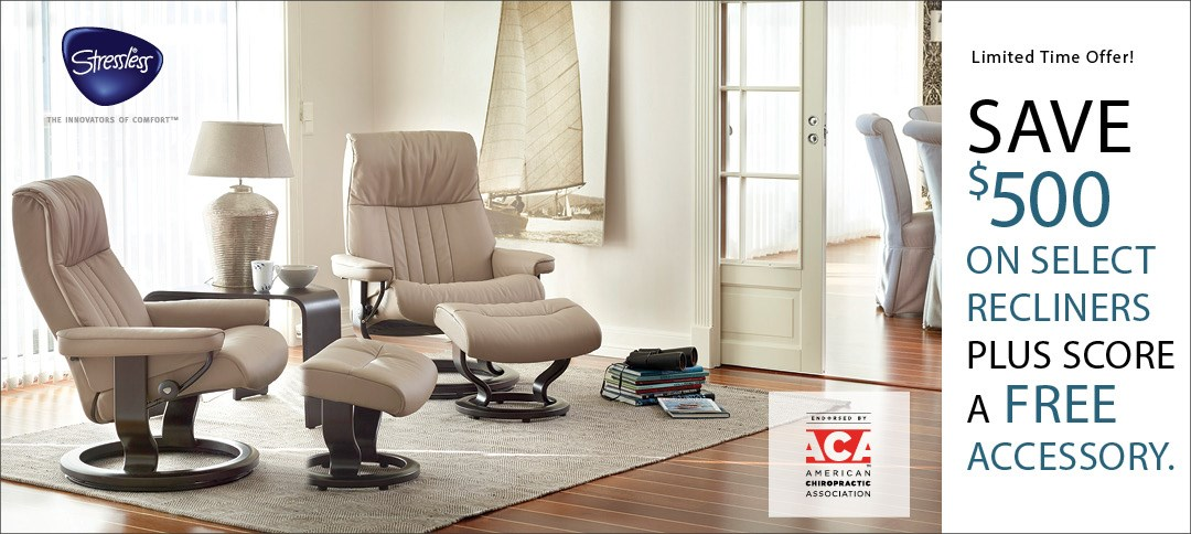 Your Opportunity to Save on Stressless