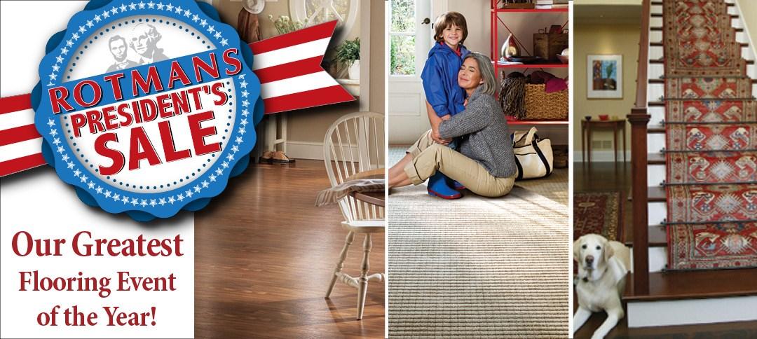 President's Flooring Sale!