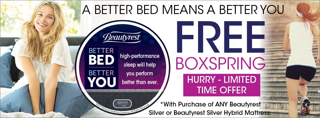 Beautyrest Free Boxspring Offer