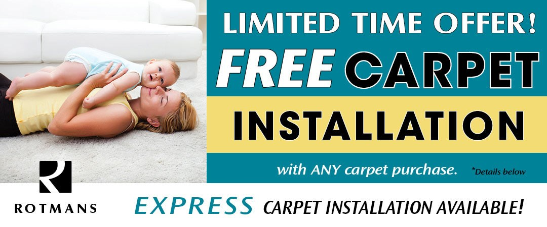 Free Carpet Installation