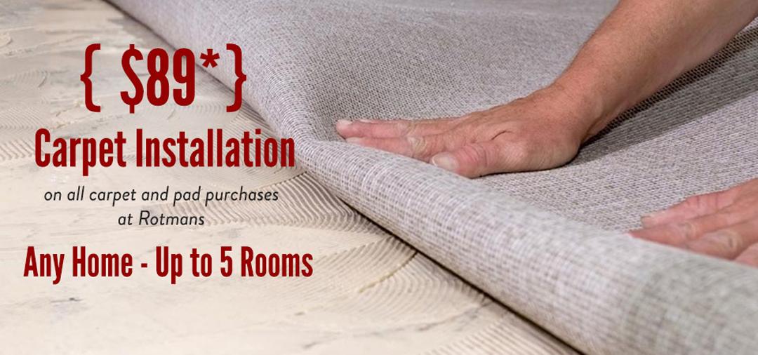 Rotmans Carpet Installation - Rotmans - Worcester, Boston ...