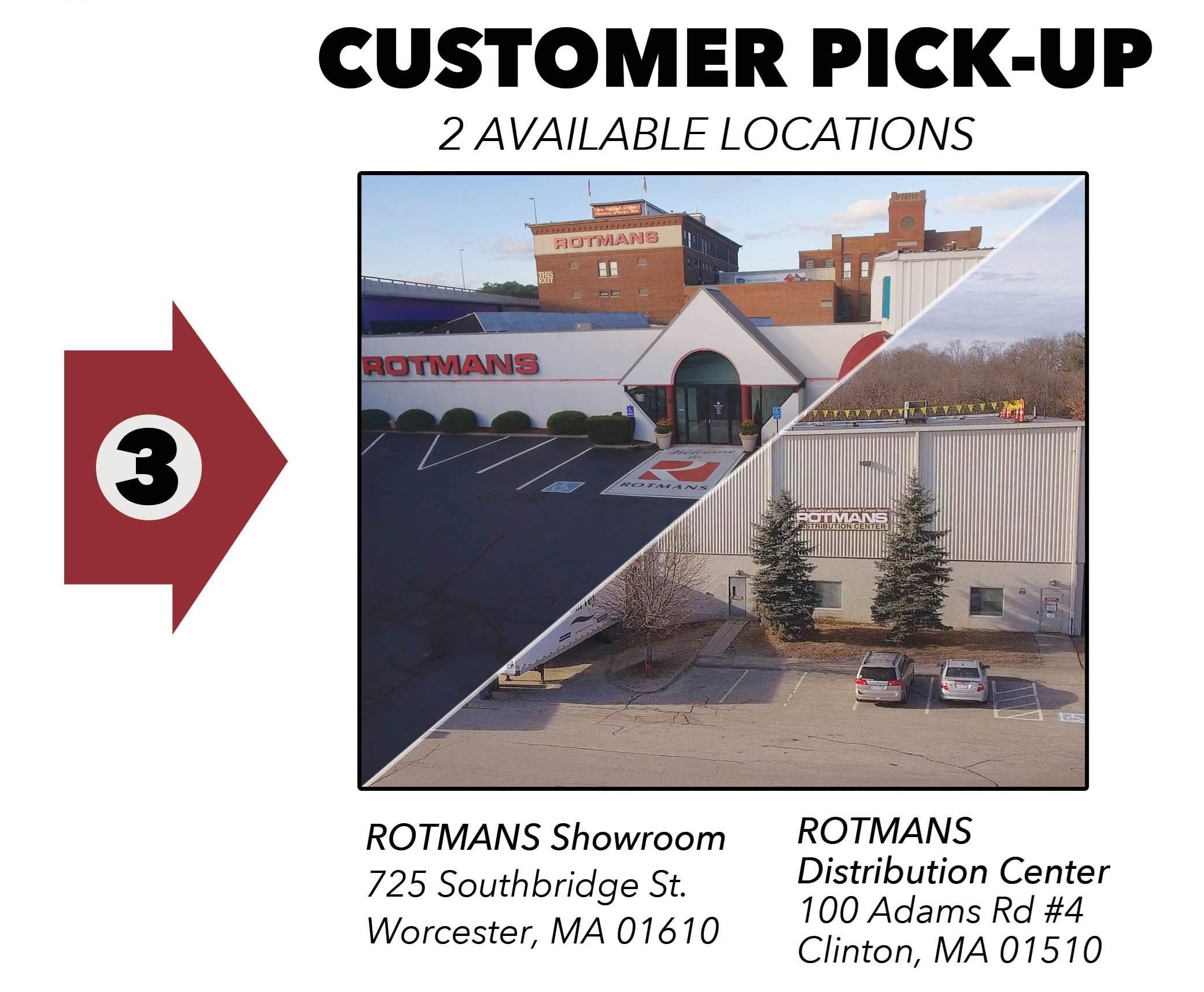 Customer Pick-Up Info 1
