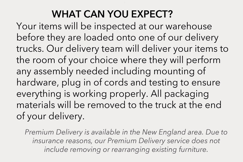 Premium Delivery Info 2