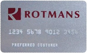 Rotmans credit Card Image