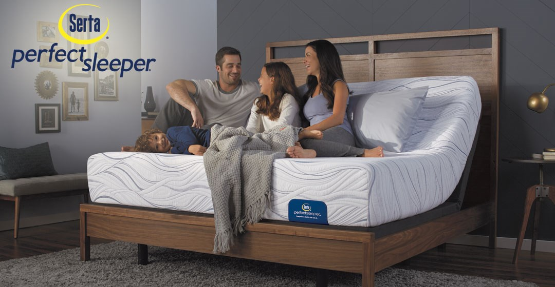 Serta Perfect Sleeper Mattresses At Dunk U0026 Bright Furniture