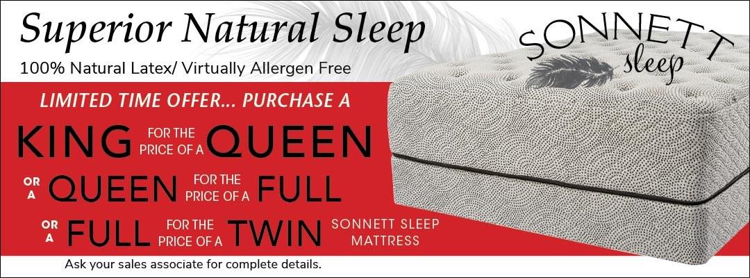 Sonnett Sleep King For Queen Offer