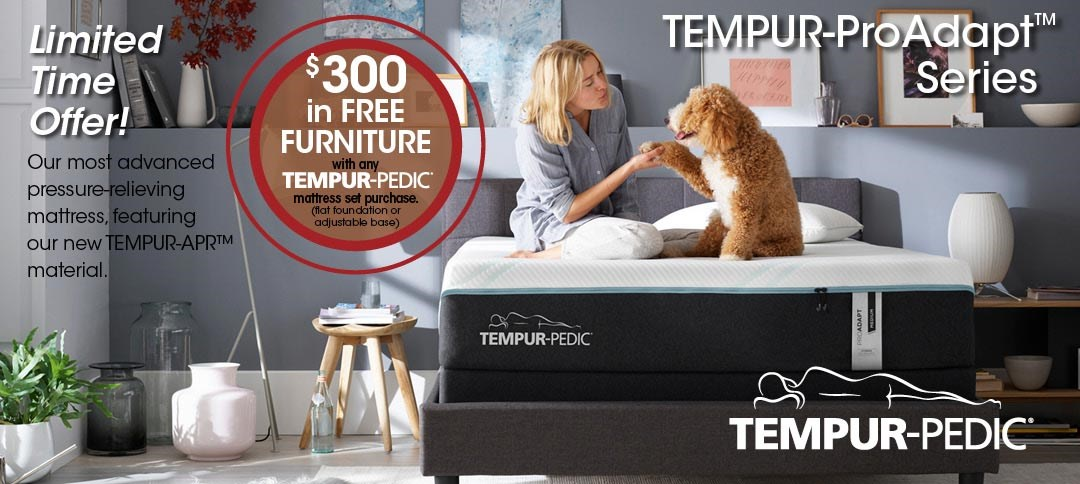 Tempurpedic Free Furniture Offer
