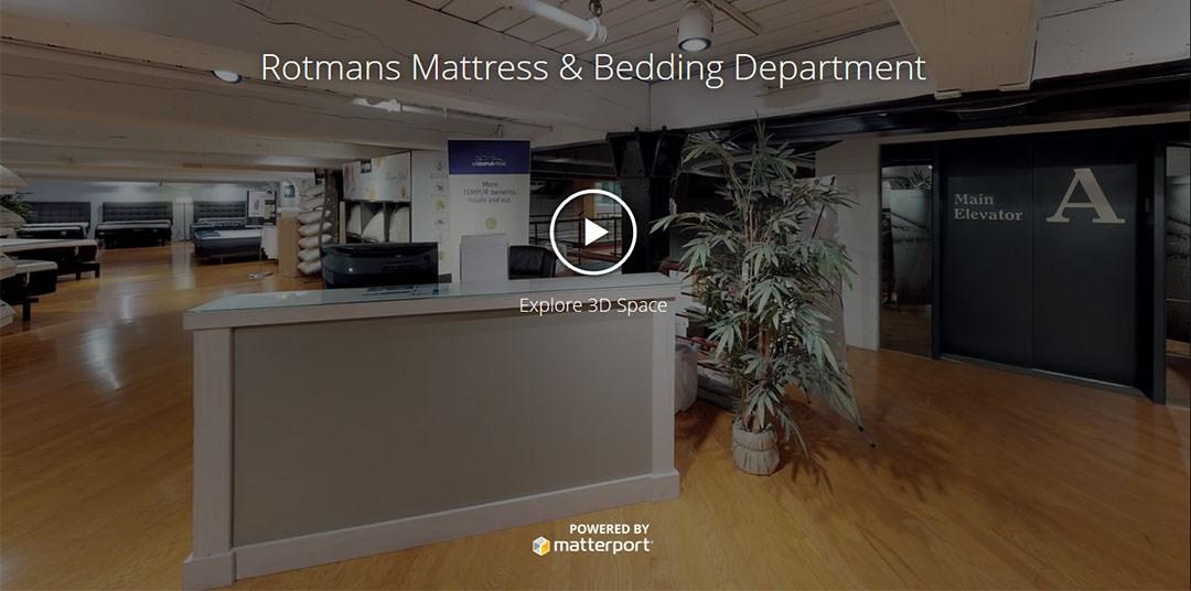 Mattress Department Virtual Tour