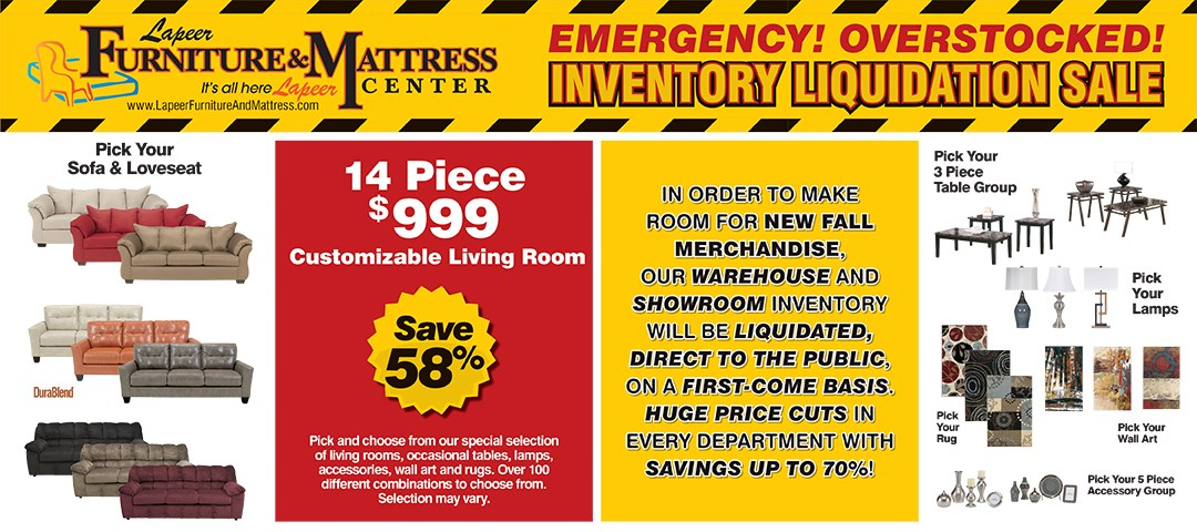 Inventory Liquidation Sale