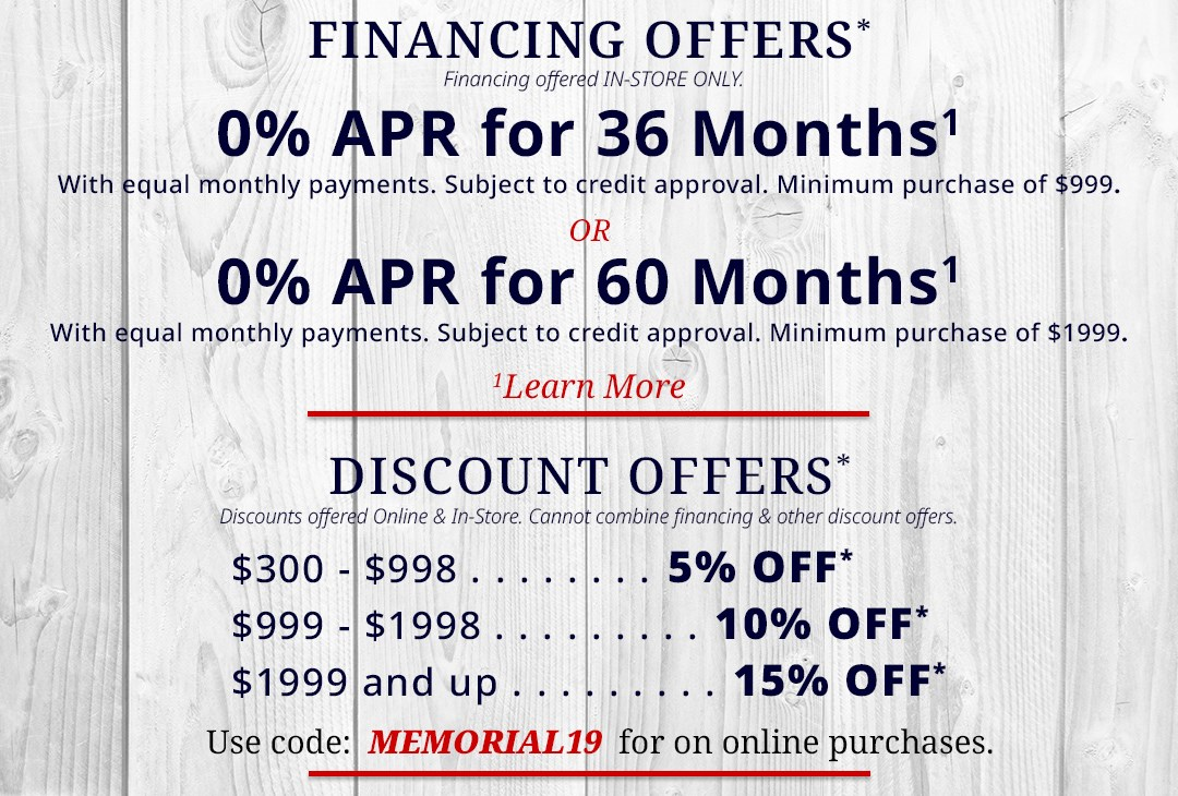 Financing Terms