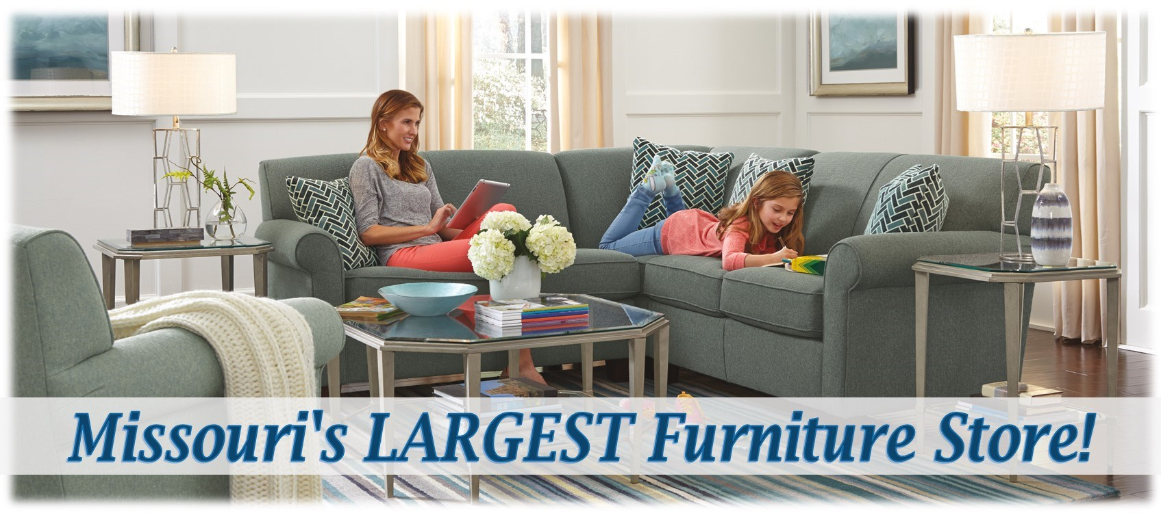 Arwood's is Missouri's LARGEST Furniture Store!