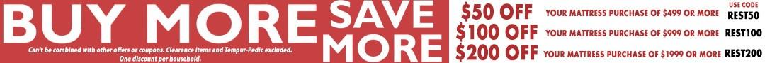 buy more save more matt