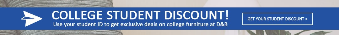Student Discounts and College Furniture