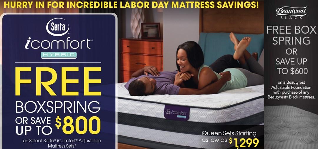 labor day mattress