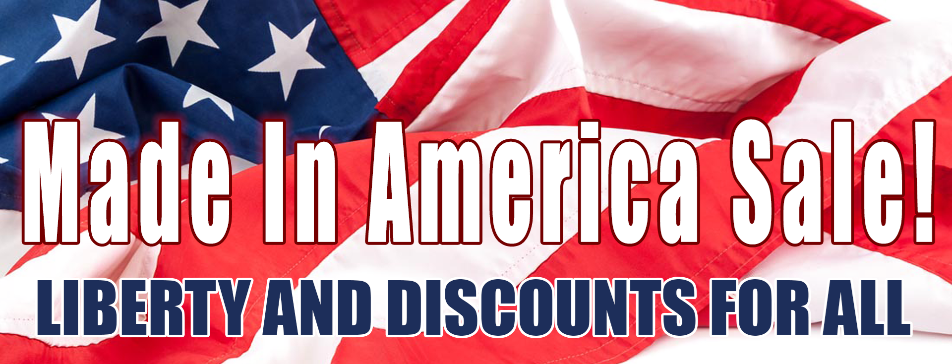 Liberty and discounts for all!