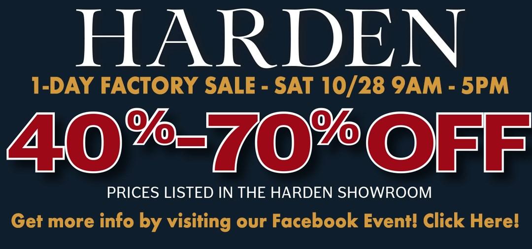 Harden Sale