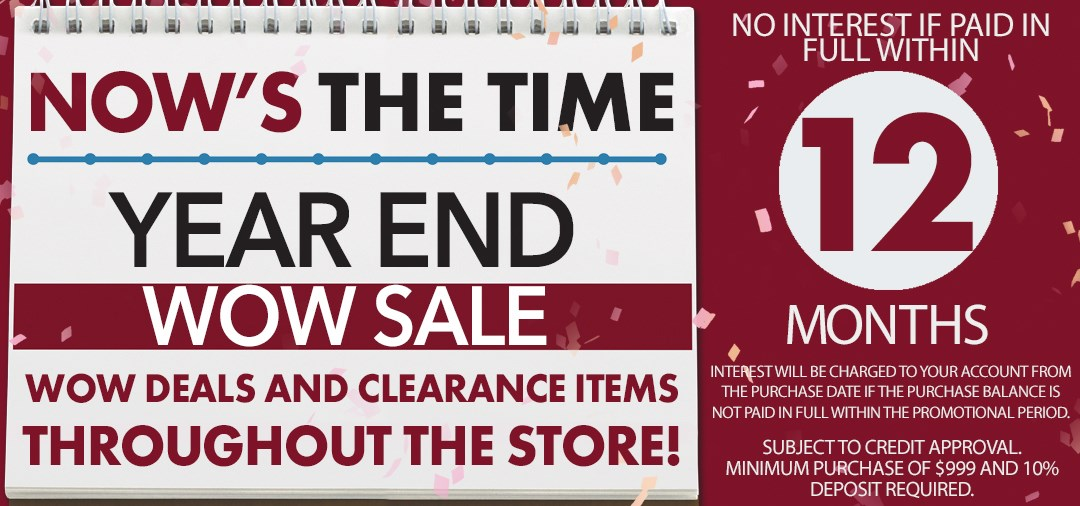 Year End WOW Sale