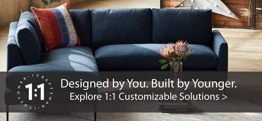 Younger Customizable Upholstery Program