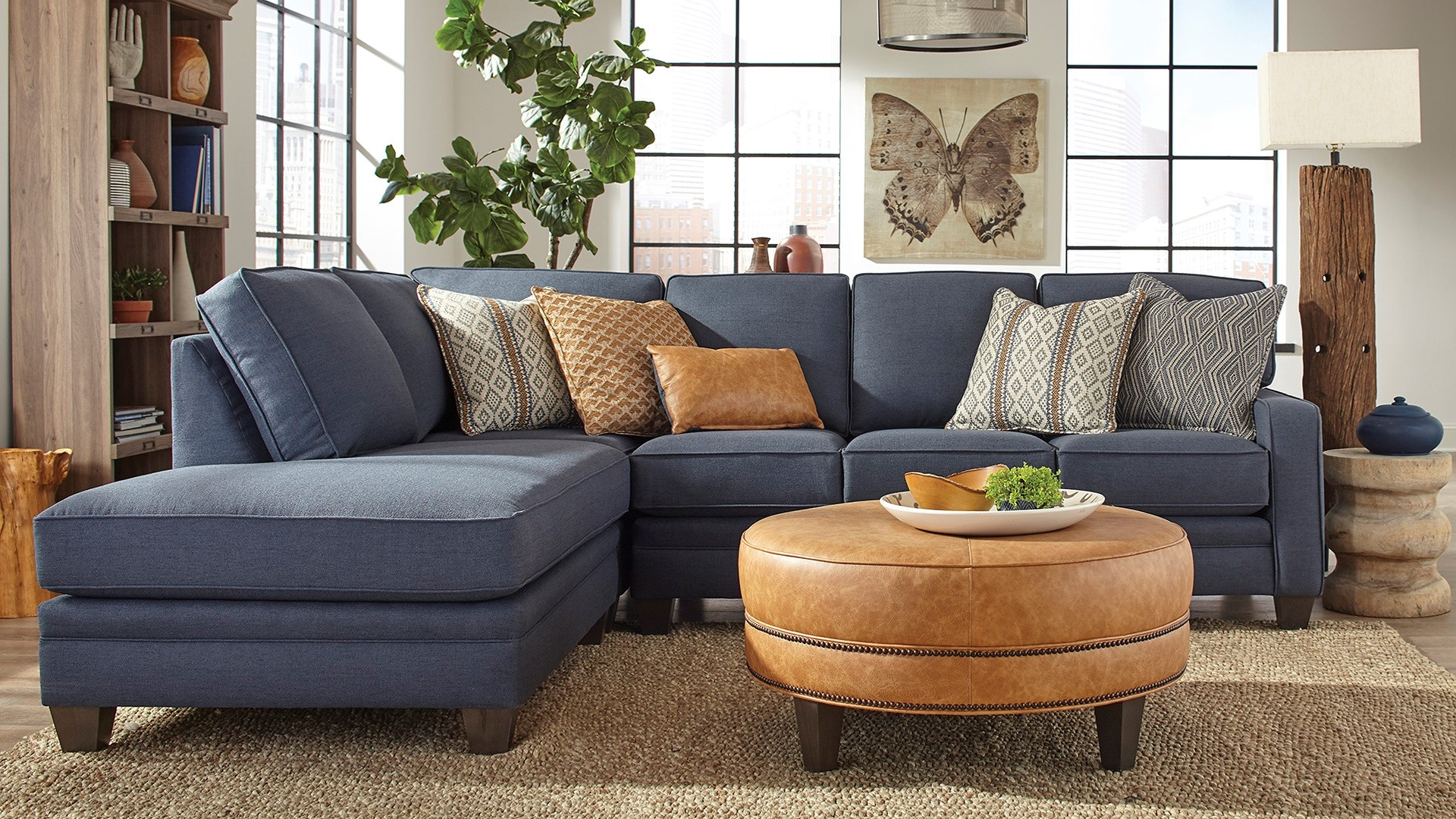 Smith Bros Sectional